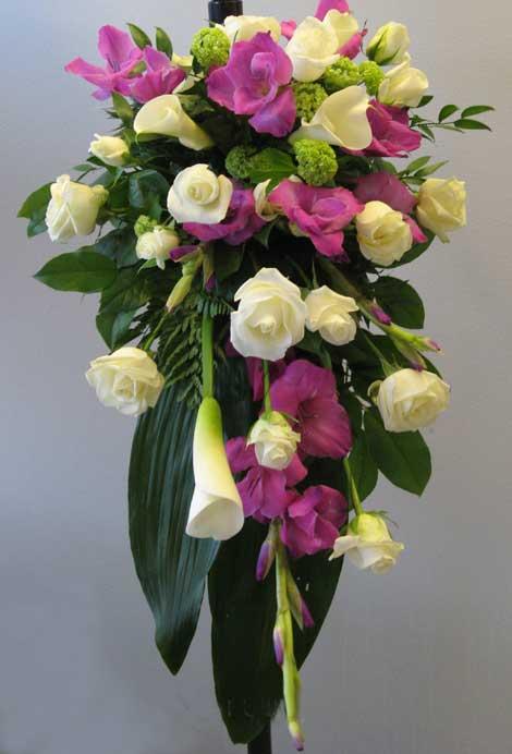 108 gladiolus, calla ja ruusu